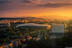 Cluj-Napoca (Lucian Nuță) Tags: clujnapoca cluj napoca arena stadium sunset romania landscape view cetatuie dusk sun stadion city