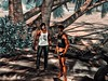 Conversa rápida (The WatcherSL) Tags: friendship portrait artwork
