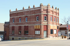 Citizens Bank Building - New Glarus, WI (The Bouncing Czech) Tags: wisconsin newglaruswi