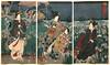 Famous Flowers (YIP2) Tags: vangogh japan vangoghmuseum amsterdam museum kuniyoshi edo exhibition japaneseprints triptych