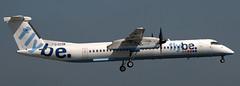 DHC-8-402 G-ECOM (707-348C) Tags: dublinairport dublin dub turboprop propliner prop dehavillandcanada dash8 gecom dhc airliner flybe bee eidw dhc8402 ireland 2018