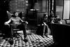 Old Friends. (Mroovac) Tags: friends men women lobby chairs light shadow bw blackandwhite nikon nikond850 nikkor24‑70mmf28ged 2018