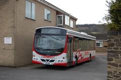 Weardale Motor Services (Renown) Tags: bus singledecker man wright stanhope weardale motorservices codurham garage w6wms