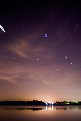 (cara zimmerman) Tags: lensbaby lakewaveland indiana night nightsky stars blur lake astro astrophotography lensbabycomposerpro