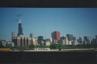 Chicago City Skyline ~ Chicago Il ~ My Film 1990