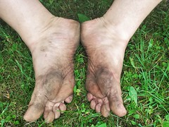 barefoot in nature 148 (dirtyfeet6811) Tags: feet soles barefoot dirtyfeet dirtysoles feetinnature