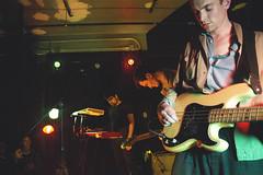 IMG_9308 (stephanie andreana) Tags: ought oughtband oughtmusic music band show concert brooklyn bk markethotel venue bushwick play fun experiment diy create inspire noflash digital drums keys bass sing mic
