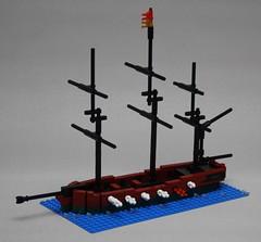 Hotspur firing practice (Beorthan) Tags: bobs eurobricks lego corrington ship moc