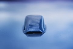 Transportation (Helena Johansson 71) Tags: volvo macro macromondays transportation car object abstract nikond5500 d5500 nikon blue details