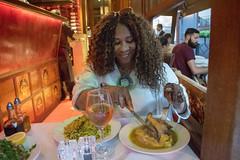 DSC_2422 Shepherd Market Mayfair London with Nicole Ross at Iranian Restaurant Lamb Shank and Green Rice (photographer695) Tags: shepherd market mayfair london with nicole ross iranian restaurant lamb shank green rice