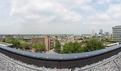 20180525-018 Rotterdam Erasmus MC (SeimenBurum) Tags: rotterdam netherlands erasmus erasmusmc hospital ziekenhuis panorama architecture architectuur garden roofgarden daktuin tuin