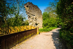 What is left of the mysterous Neville Castle (Geordie_Snapper) Tags: canon1635mm canon5d4 kirbymoorside may nevillecastle northyorkshire summer sunny