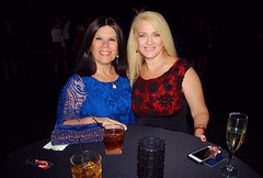 Laura & Leslie (PelicanPete) Tags: florida companyparty fortlauderdalebeach fortlauderdaleflorida unitedstates usa 12217 onthebeach harborbeachmarriott holidayparty christmas ceiling red snowflakes festive magnificent wine chairbacks centerpieces flowers dancefloor stage band drinks fun happy employees matching projections creative partyplanner linda tables chairs 250people goodfood marineseveryyear toysfortotsprogram portevergladesflorida mainballroom big laura leslie friends cocktailparty portrait colorful coworkers preparty outside