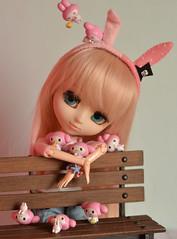 We love My melody (-gigina-) Tags: doll pullip tomoemami obitsu rewigged rechipped nikon d3100