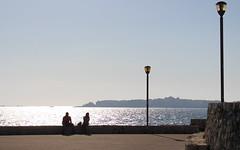 (ifranke) Tags: gallipoli apulien puglia canon eos sonnenuntergang meer ocean sea people menschen