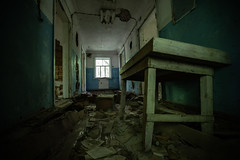 Zalissya Hospital (Jonathan Dadds) Tags: zalissya hospital chernobyl nuclear disaster exclusion zone exclusionzone soviet accident fallout uranium wasteland urban exploring travel travelphotography canon canon5d canon5div