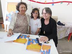 "Visita das autoras Maria Eliza e Nilza Siqueira • <a style=""font-size:0.8em;"" href=""http://www.flickr.com/photos/134435427@N04/27749599517/"" target=""_blank"">View on Flickr</a>"