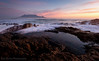 Ho-Hum Sunset (Panorama Paul) Tags: paulbruinsphotography wwwpaulbruinscoza southafrica westerncape capetown tablemountain blaauwbergbeach sunset mountain rocks clouds orange pink nikond800 nikkorlenses nikfilters