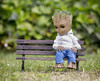 Lonely Groot Just Wants a Friend (Jezbags) Tags: lonely groot wants friend sad bench babygroot grass avengers guardiansofthegalaxy macro macrophotography macrodreams canon canon80d 80d 100mm closeup upclose toy toys hottotys