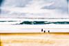 L'éloge de l'onde (Fabrice Le Coq) Tags: mer vague ciel nuage sable sea beach sky cloud wave blur flou bleu blue jaune yellow océan eau water