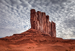 Monument Valley (KeithJ) Tags: utah monumentvalley clouds butte outdoors