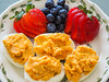 Yummy...I love deviled eggs (classymis) Tags: classymis breakfast brunch eggs deviledeggs strawberries blueberries yummy berries