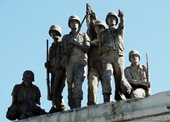 Brave Soldiers (Antônio A. Huergo de Carvalho) Tags: soldier soldado hero herói wwii war escultura estátua curitiba paraná brasil brazil praçadoexpedicionário expedicionário feb força expedicionária brasileira