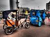 Fahrrad-Taxi (Pico 69) Tags: fahrrad rad taxi amsterdam pico69 street typisch