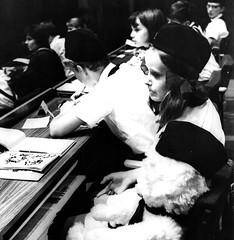 DDR Pioniere in Dresdner Kulturpalast zum Pionierteffen in Dresden 1982,Thälmannpioniere,Freie-Deutsche-Jugend(FDJ),DDR Kinder,Jungpioniere (SchlangenTiger) Tags: kulturpalastdresden pioniertreffen dresden 1982 thälmannpioniere jungpioniere jungepioniere pioniere freiedeutschejugend fdj kinder jugend schule schüler gst gdr ddr