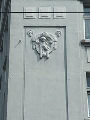 Dickes Kind (mkorsakov) Tags: dortmund nordstadt hafen wand wall ornament grau grey retro vintage