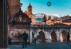 Sulmona (SDB79) Tags: sulmona abruzzo borgo old street fontana acquedotto