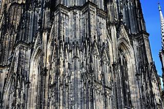 Stonework, Hohe Domkirche St. Petrus, Köln, Nordrhein-Westfalen, Germany.