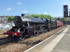 45212 at newport (47604) Tags: 45212 black 5 stanier steam loco locomotive newport