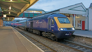 43020 at Paignton with this evenings 2135 to Newton Abbot