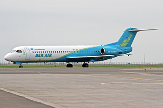 Bek Air Fokker 100 UP-F1007 TSE 25-05-18