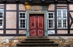 Beautiful Entrance (Rick & Bart) Tags: goslar germany deutschland niedersachsen city urban rickvink rickbart canon eos70d historic architecture unescoworldheritagesite door tür