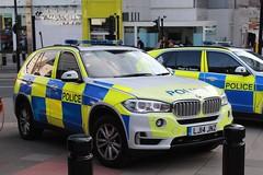 LJ14 JNZ (Ben Hopson) Tags: northumbria police np bmw x5 arv armed response vehicle unit aru 999 firearms newcastle city centre st james park magic rugby weekend 2018 2014 bronze command lj14jnz