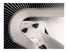 Open House Vilnius :: Green Hall Business Center No. 2 (K.H.Reichert [ not explored ]) Tags: lithuania openhouse architektur laiptai sw atvirasnamas bw vilniaus stairs staircase blackwhite verslocentras laiptinė arcitecture architektūra litauen vilnius vilniausapskritis lt