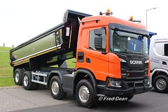 Scania G450 XT Tipper Truck. (Fred Dean Jnr) Tags: waterfordtruckmotorshow waterfordtruckmotorshow2018 waterfordinstituteoftechnologyarena may2018 waterford truck lorry scania tippertruck