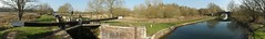 2018 02 24 004-1 KA mostly panos (Mark Baker.) Tags: 2018 avon baker benham berkshire eu europe february kennet kennetandavon lock mark newbury bridge britain british canal day england english european footbridge gb great kingdom outdoor panorama panoramic photo photograph picsmark rural uk union united view winter