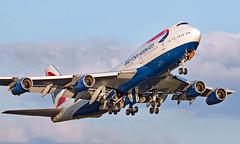 G-BNLY - Boeing 747-436 - LHR (Seán Noel O'Connell) Tags: britishairways ba gbnly boeing 747436 b747 b744 747 heathrowairport heathrow lhr egll 27r iad kiad speedbird ba293 baw293 aviation avgeek aviationphotography planespotting
