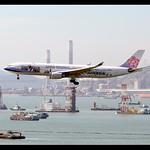 A330-302   China Airlines   MASALU! TAIWAN   B-18358   HKG thumbnail