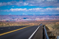 As we head toward the Vermillion Cliffs in Northern Arizona there are endless plateaus, deep canyons and cliffs.