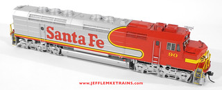 OMI 5675-1 AT&SF FP45 90 in HO Scale