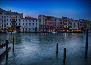 Blue Hour at Canal Grande / Venice