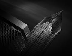 Amongst the Shadows (paulantony2) Tags: monochrome blackandwhite nikon city architecture d7100 frankfurt germany building