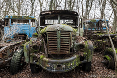 Truck Graveyard 01 (Travelers Of The Past) Tags: truck graveyard épave épaves car cars urbex urban exploration urbaine friche decay lost place forbidden places abandoned abandonné forget forgotten explorer exploring explore explo old timer timers