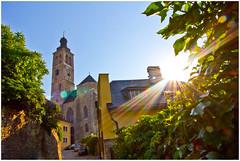 Kirche in Kutna Hora (ElbSachse) Tags: kirche church light sonne sun canon eos 60d gegenlicht elbsachse tschechien kutna hora cz wein lichtspiel licht