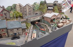 Canal (Phil_Parker) Tags: modelrailway train