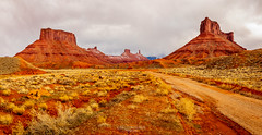 Westworld (Greg Lundgren Photography) Tags: utah moab castlevalley parriottmesa castletontower therectory roundmountain westworld highway128 desert landscape mesa rockformation lasalmountains redrocks vacation roadtrip southwest
